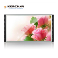 Wall mount 15 inch HD frameless advertising video / media player for shelf display