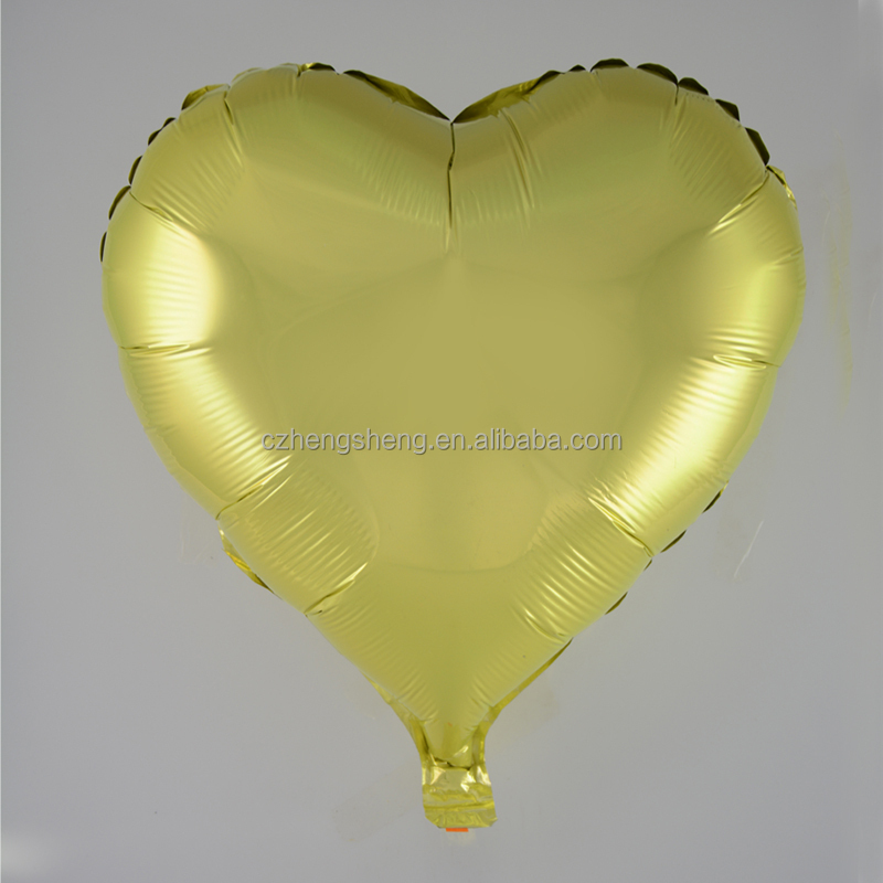 Logo printed foil advertising metalized balloons