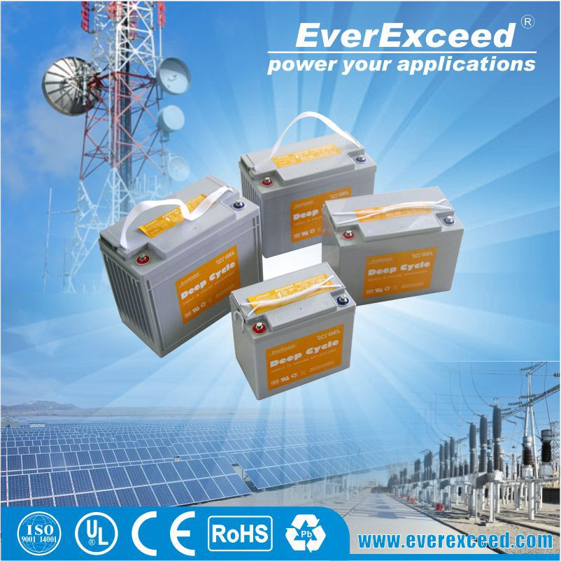 2015 exceptional energy storage 12v 105ah deep cycle battery