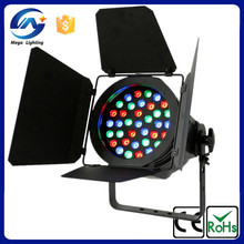 used stage lighting for sale 36pcs rgb 3w barn door led par light