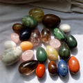 Natural semi-precious stone kegel tools eggs,rose quartz crystal yoni eggs