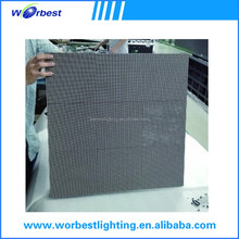 576x576mm die-casting aluminum cabinet stage using outdoor P6 led display