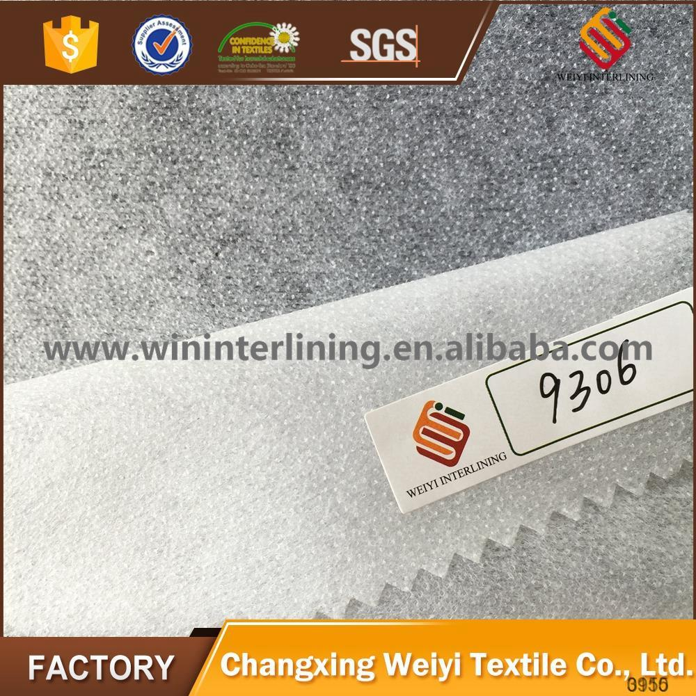 SGS proved nonwoven clothes fusible interlining