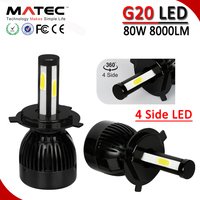 Factory Price G20 LED Headlight Conversion Kit Replace C6 LED Headlight 40w 80w