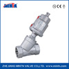 Manufacturer dn50 steam ss304 stainless steel pneumatic angle seat valve