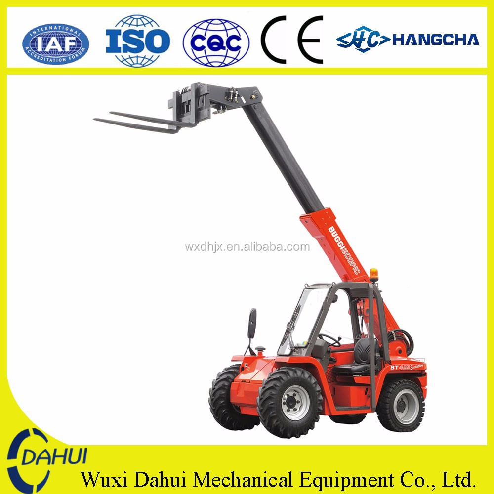 china new 2.5 ton telescopic forklift telescopic handler forklift truck