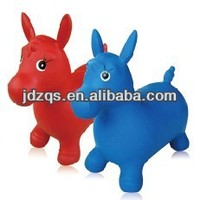 Jumping animal toy inflatable Toy animal
