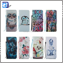 Newest Printing high quality TPU moblie phone case leather wallet Case for Samsung Galaxy S8