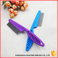 Pet Flea comb, stainless steel flea comb, lice comb for Children and Pets