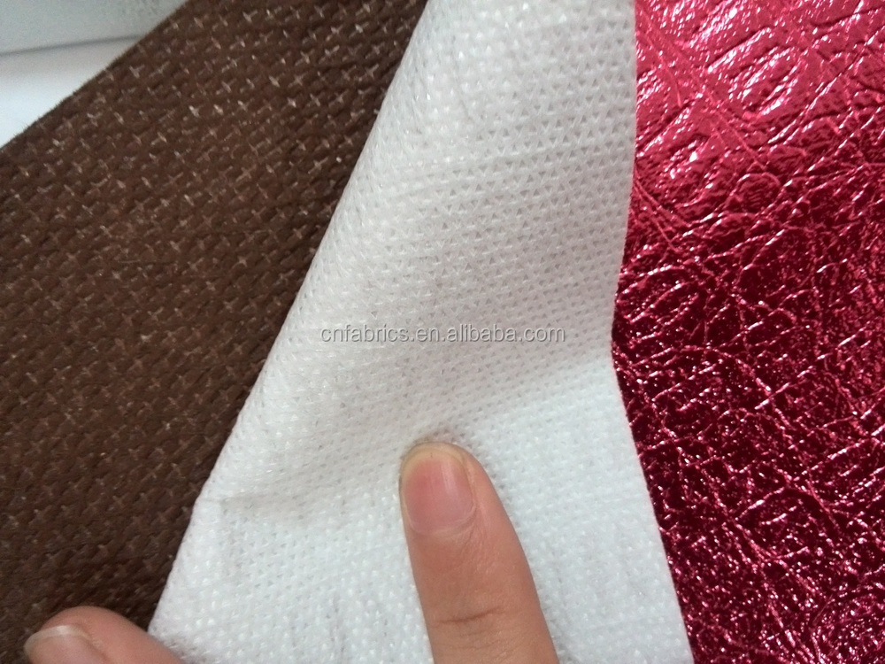 Quilted PP Nonwoven metallic fabric