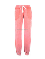 burn out ladies knitted long pants