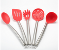 FDA Hight Quality Silicone Stainless Steel Kitchen Utensil Sets Kitchen Utensil