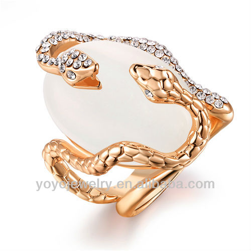 rings jewelry top selling products 2015 turkish opal couple gold snake ring