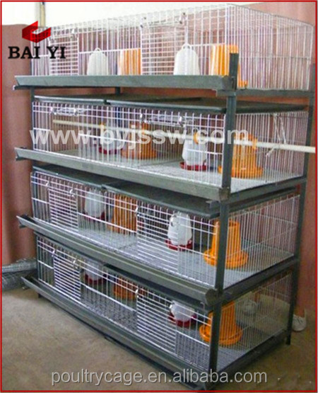 New Design Best Selling Steel Structure Small Chicken Poultry Ventilation House( A & H type chick cage)