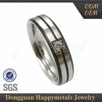 Quality Assured Affordable Price Classic Design 18Kgp Ring Jewelry