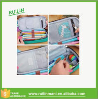 Student Stationery Canvas pen case Home Travel Makeup Cosmetic Bag