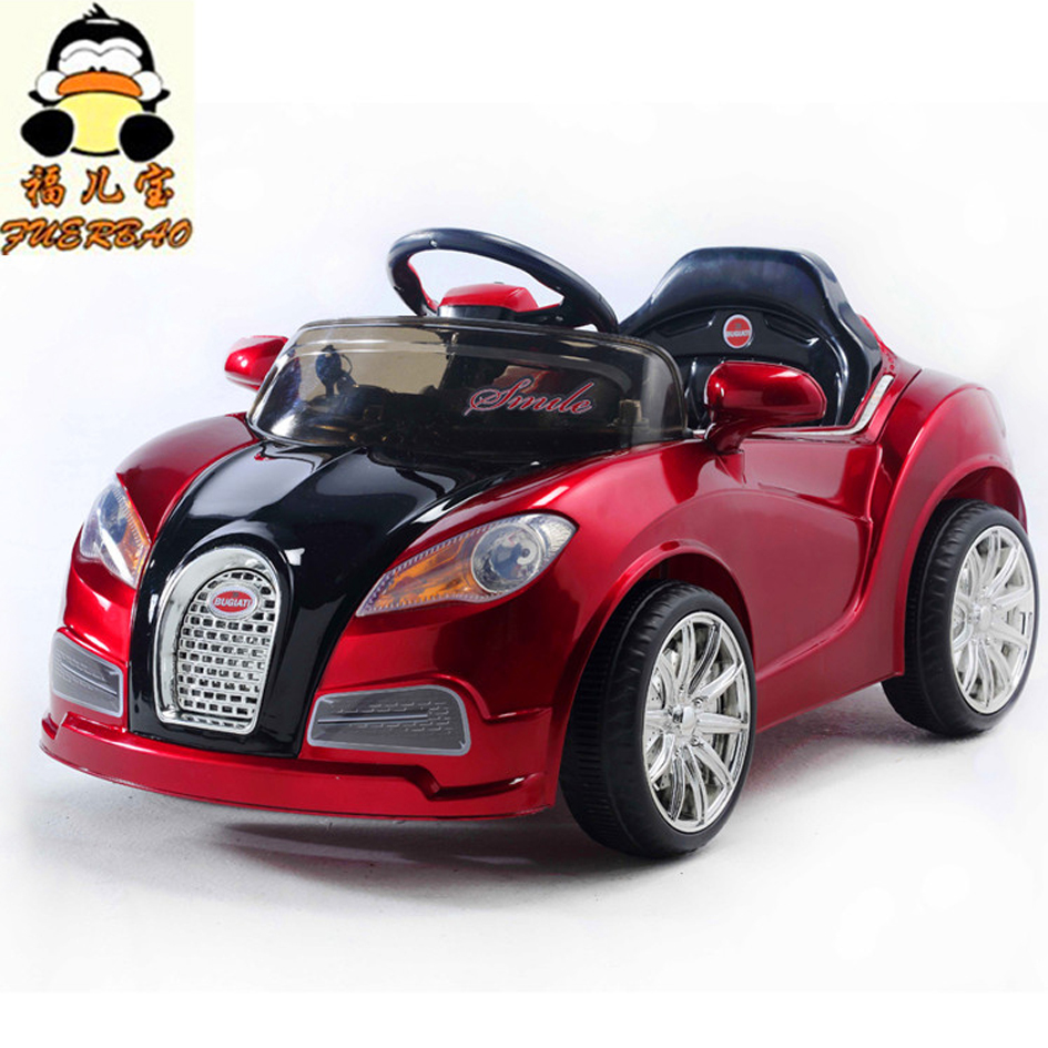 Child electric bicycle electric car electric baby stroller double toy car four wheel remote control car