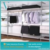 Simple folding Oxford fabric metal cheap wardrobe for bedroom furniture