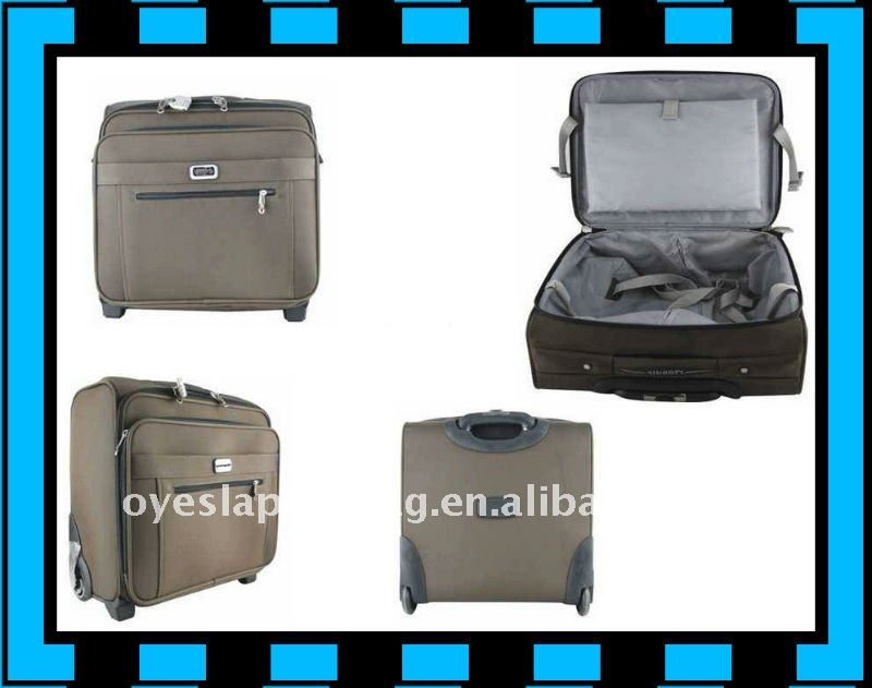 airline cabin 18 inch royal trolley luggage with removable wheels
