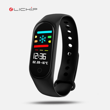 LICHIP L211 usb charging Pedometer fitness tracker m3 M2 f3weather ip67 waterproof <strong>Smart</strong> Bracelet wrist band <strong>watch</strong>