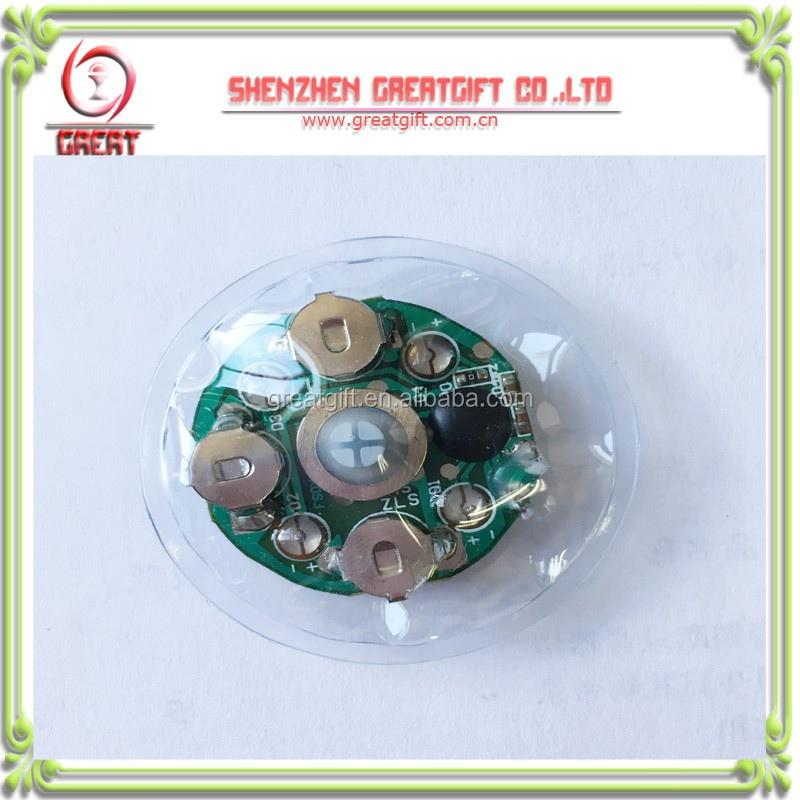 Water-proof sound module for clothes,T-skirt,pants or others