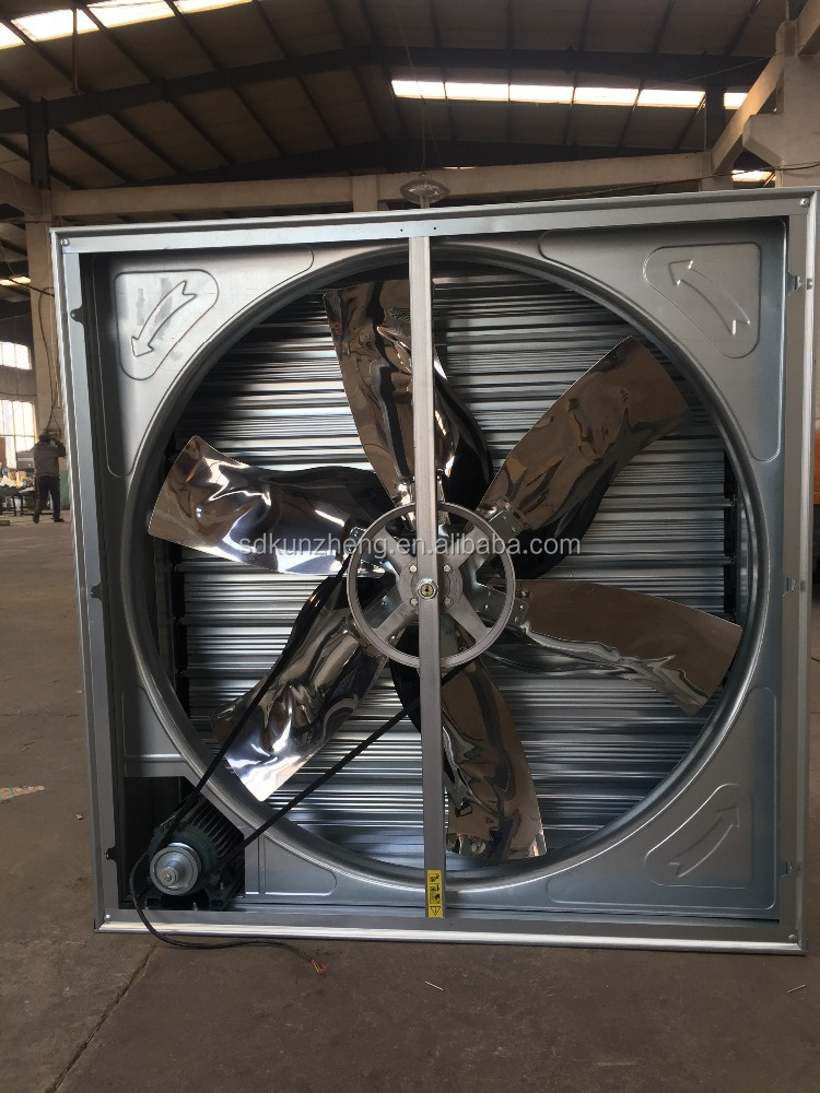 Kun Zheng Chinese Factory Used Greenhouse fans cooling for sale with CE certification