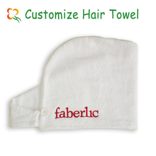 super absorption 100% Cotton towel for hair salon
