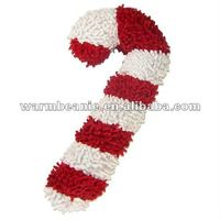 Multipet Holiday Large Moppy Candy Cane Dog Toy
