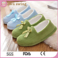 Pure Color Cozy Coral Fleece House Slippers,Cotton-padded Home Floor Soft Slippers,Anti-skid Home Indoor Sandal