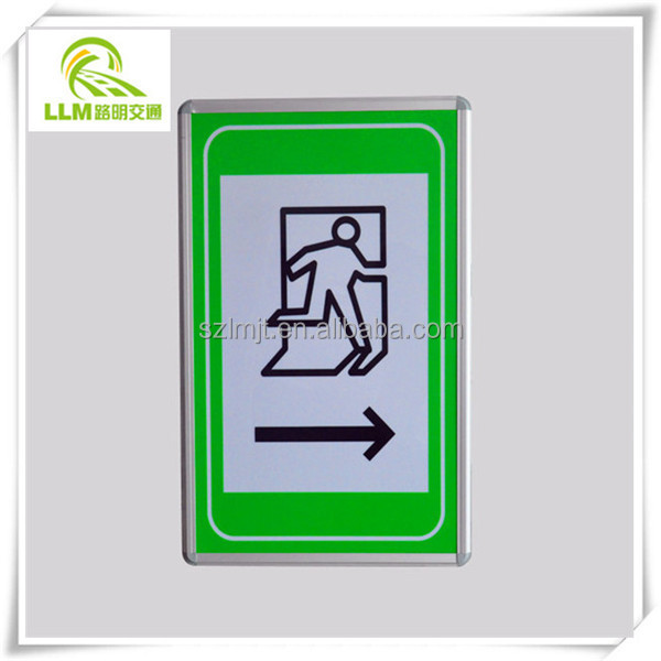 Factory outlet outdoor led emergency exit sign