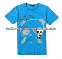 blue t shirt customized printing t shirt free delivery