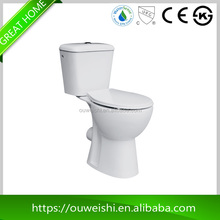 Alibaba export high quality easier cleaning white bidet toilet made in china