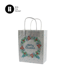 Custom printed foldable reusable Hot sale shopping nice kraft paper bag with your own logo