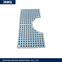 Frp trench drain grating cover