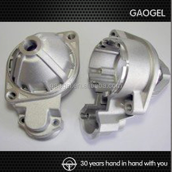 OEM alloy custom steel aluminium zinc shell steel die casting machinery parts aluminium die casting shell