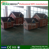 Plastic dog kennels for Pet cages made of wood plastic composite HDPE material with eco-friendly and healthy