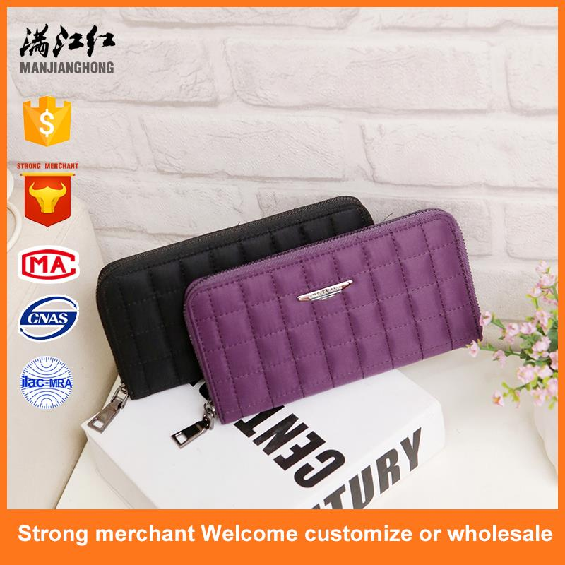 New design nylon bag popular wallet for girl