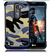 New style Heat dissipation shockproof Hybrid PC TPU camouflage mobiles cell phone case cover for LG V10/G4 POR
