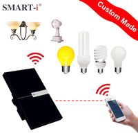 2016 Newest RF433 automatic turn off light sensor switch By APP IOS&Andriod Control For smart home system and home automation
