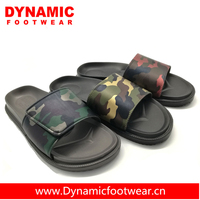 Camouflage unisex pu upper sandal,custom logo slippers,low price ladies sandal chappal
