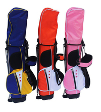 leather golf bag to golf clubs