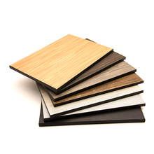 Decorative waterproof fireproof heat resistant double finish 2 faces color hpl high pressure compact phenolic laminate board
