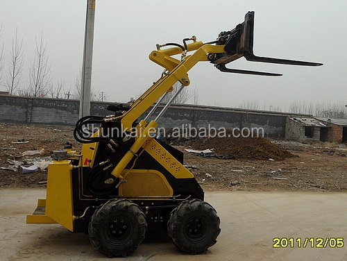 China good quality mini skid steer loader with CE paper