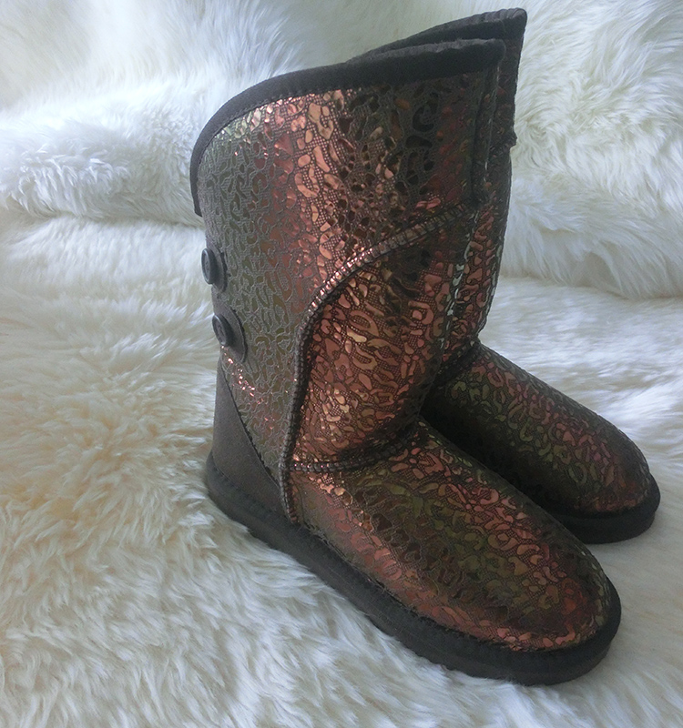 Fashion and Cheap Woman Half Covers Sexy Snow Boot For Girl Shoe