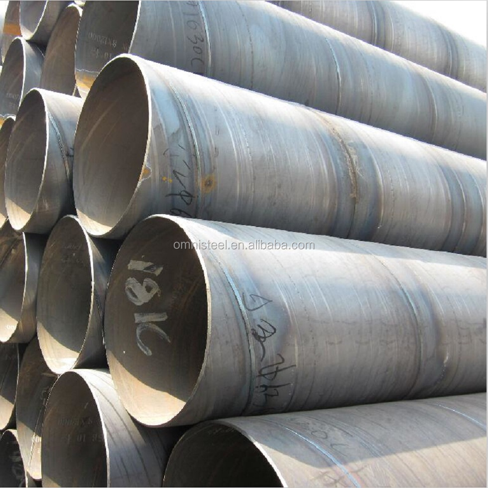 API Spec 5L Oilfield Pipeline PE Coated/SSAW Spiral Welded Steel Line Pipe X42, X46, X56 in oil and gas