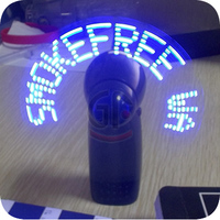 Alibaba Fresh Customized Logo Multi Mode Glowing Led Fan