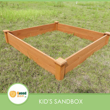 Simple square Kid's Sandpit