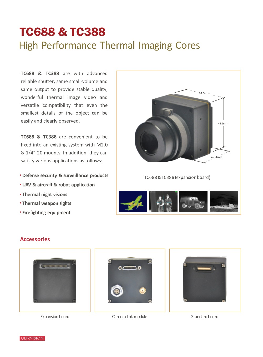 Thermal Imaging Core TC688 ULIRVISION Night Vision