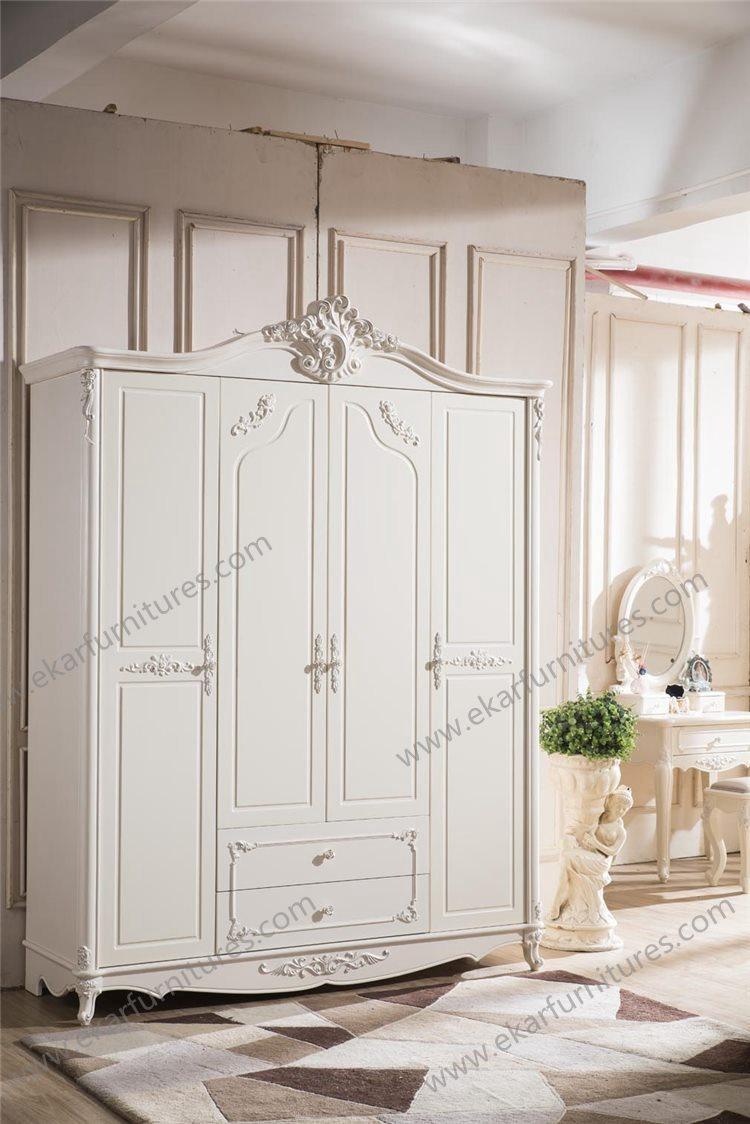 Barok hoge bed bed klassieke meubels europese stijl bedden product ...