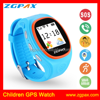 ZGPAX S866 SOS Real-time Online Tracking Monitorin GPS Tracker Watch